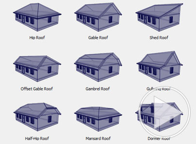 Home Designer Roof Styles dialog box