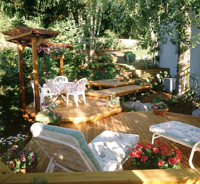 Home Garden Design on Home Design Tips   Plan Your Dream Deck