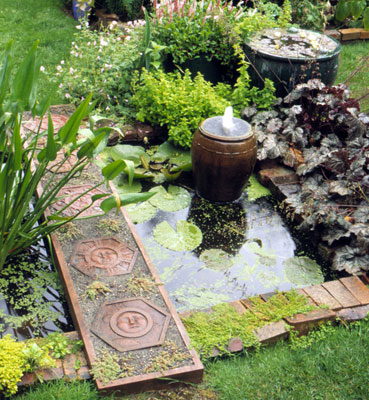 Home design tips garden decor - Cheap pond ideas ...