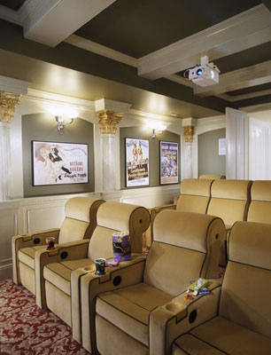 home theater reclining seats