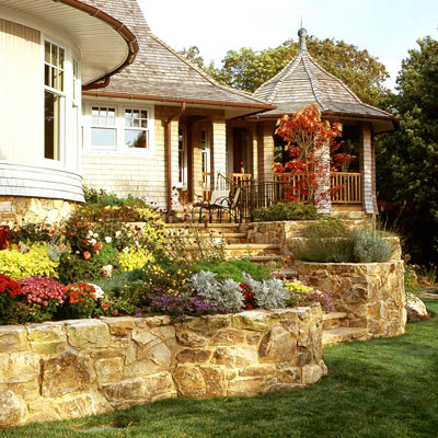 House Design Programs on Home Design Tips   Retaining Wall Solutions