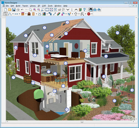 Building Design Program Images