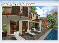 Spanish House Rendering
